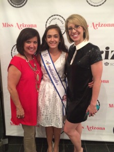 at Miss Arizona