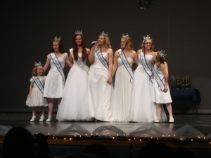 At the last preliminary, the last time we were all royalty together