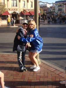 Taylor and Denise at Disneyland