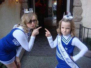 Taylor and Sydnee at Disneyland