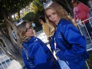 Taylor and Kirsten at Disneyland
