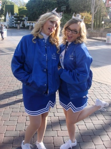 Taylor and Sabrina at Disneyland