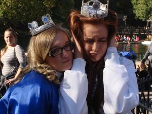 Taylor and Ashley at Disneyland