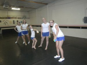 First Cindy Disco practice