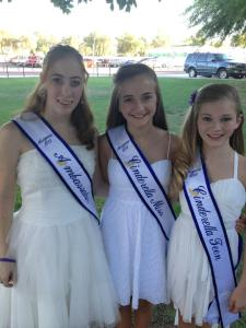 Robyn, Zolee and Mariah L at the Miss Arizona Pageant
