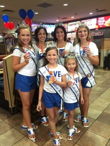 13image 2 3 Arizona royalty at DQ for children's miracle network day